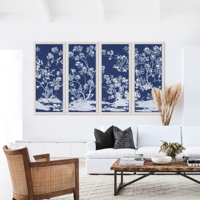 Blue Tree Panels