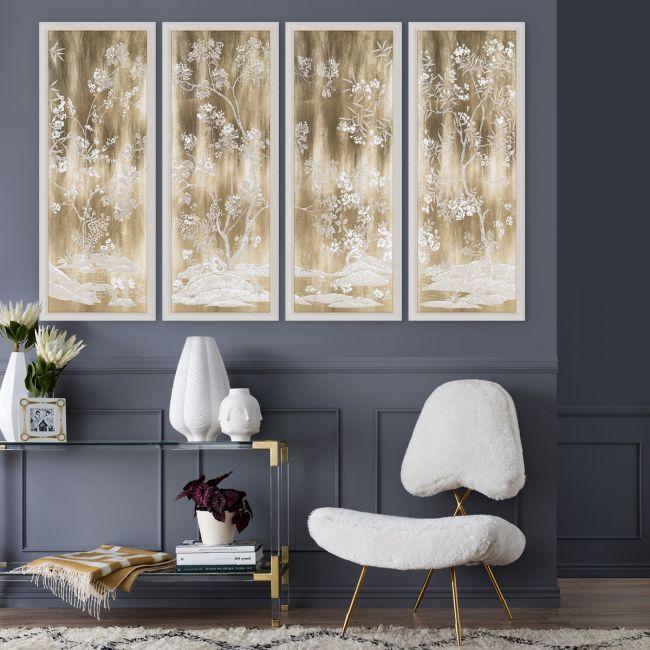 Gold Tree Panels