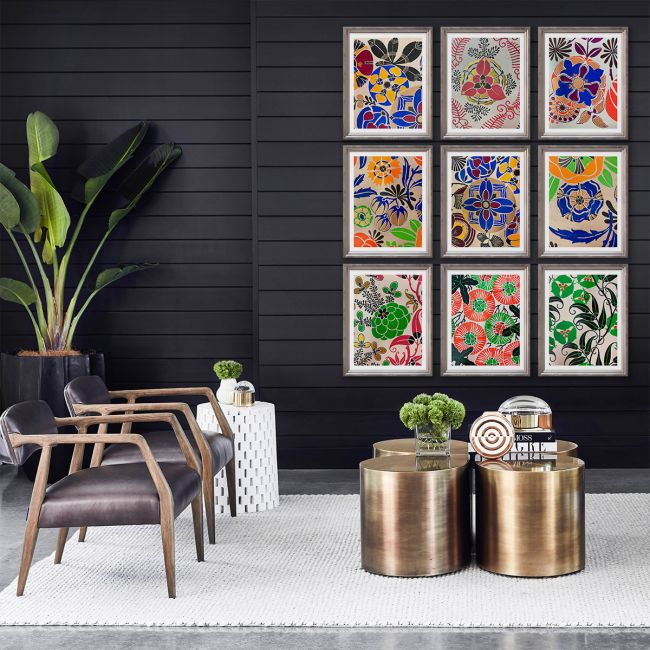 Modern Deco Flowers