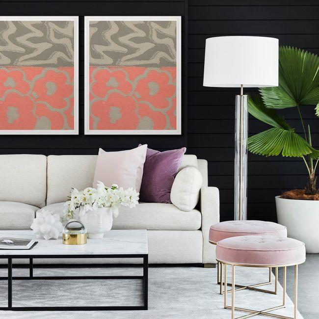Modern Textile Floral Series 1
