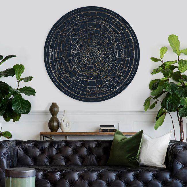 Planisphere Gold