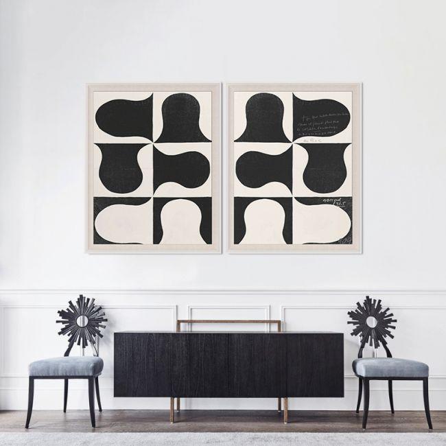 Paule Marrot, Black & White Abstract 2