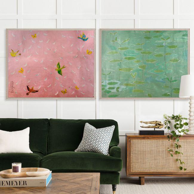 Paule Marrot Feathers & Lilies