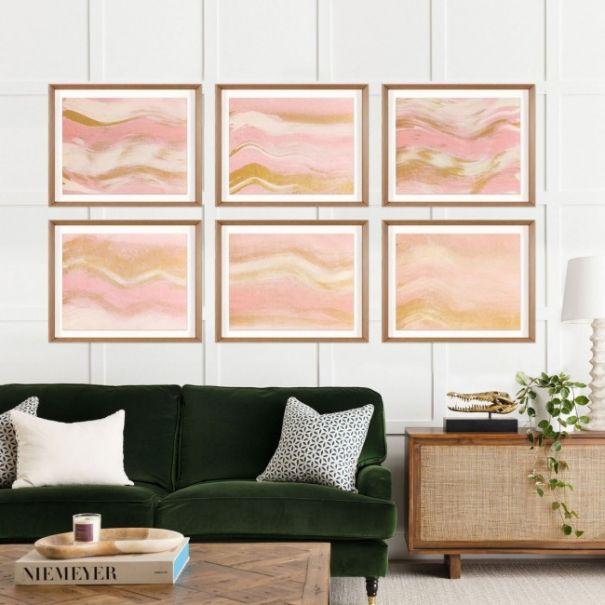 Ethereal Landscape, Pink