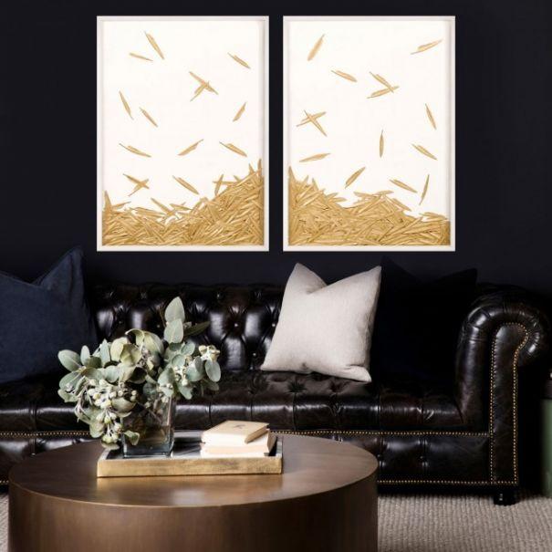 Fallen Feathers, White Shadowbox