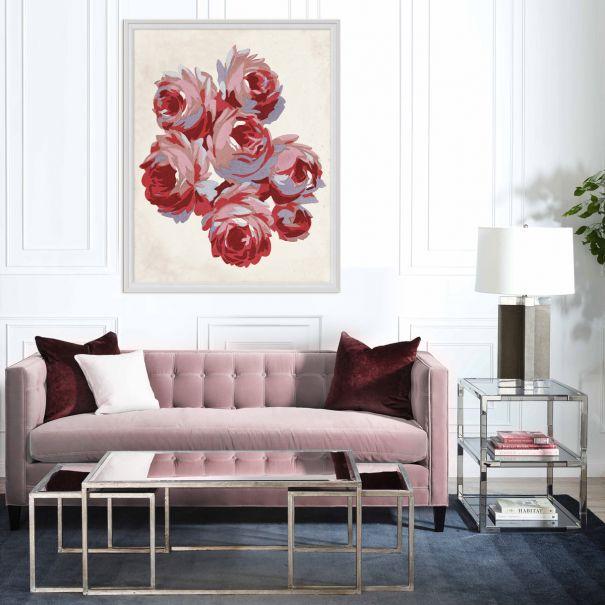 Gallini Rose Textile