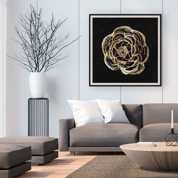 Gold Leaf Rose
