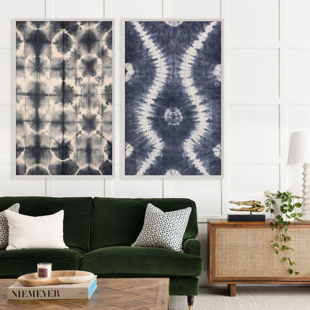 Indigo Mali Textile, 45x72