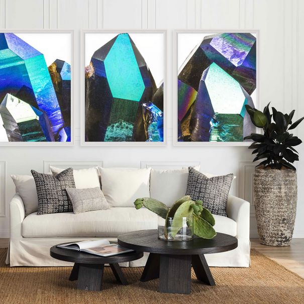 Geode Triptych Collection