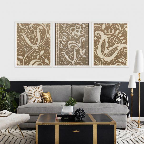 Modern Textile Floral Series 2