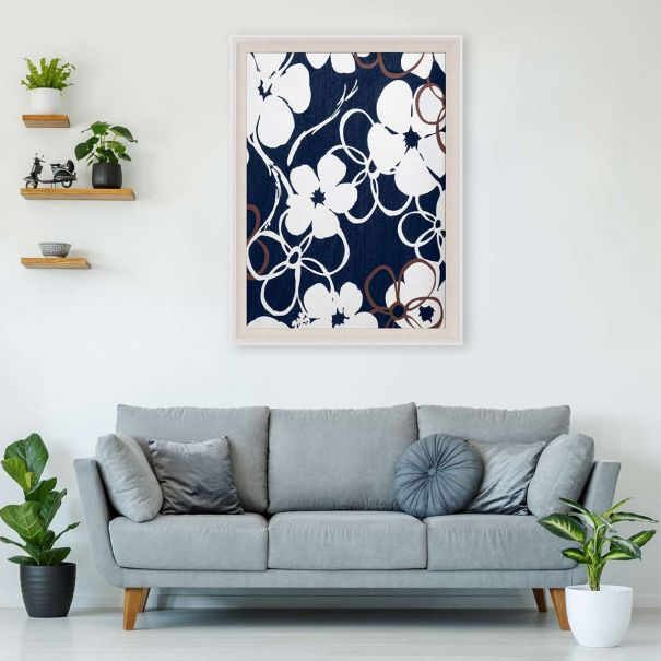 Modern Paradise, Floral Dance Series 1 No. 1 - Ready to ship