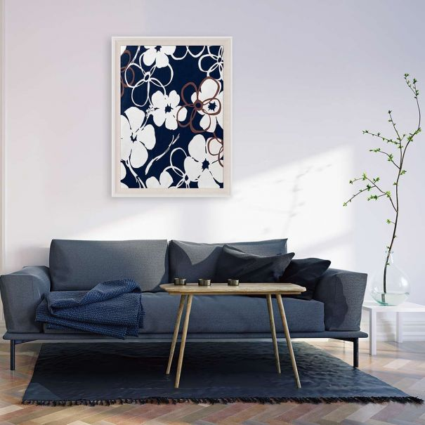 Modern Paradise, Floral Dance Series 1 No. 2 - Ready to ship