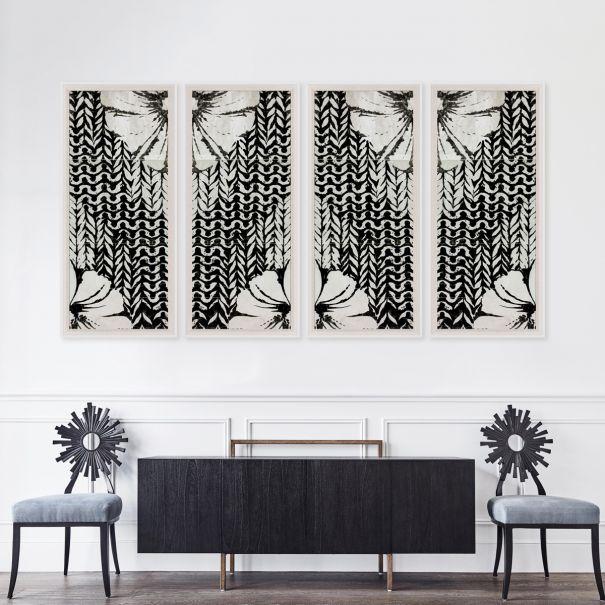 Modern Paradise, Flower Panels