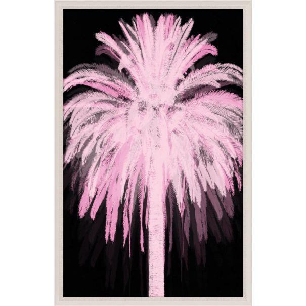 Pink Black Palms