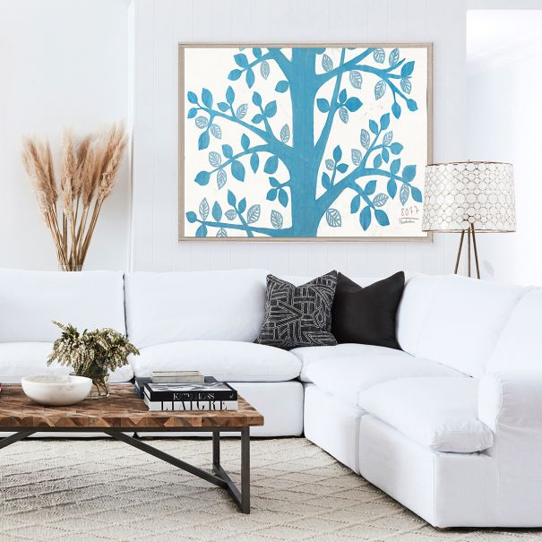 NEW Paule Marrot, Blue Tree