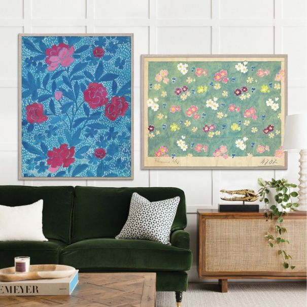 Paule Marrot Flower Field & Floral Blue