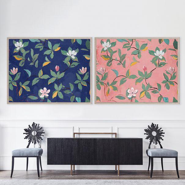 Paule Marrot, Midnight Blue Magnolias