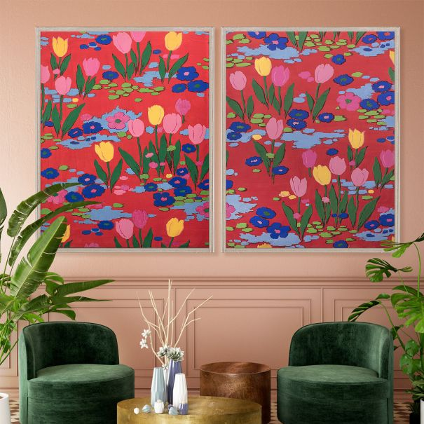 NEW Paule Marrot, Tulips 1 & 2