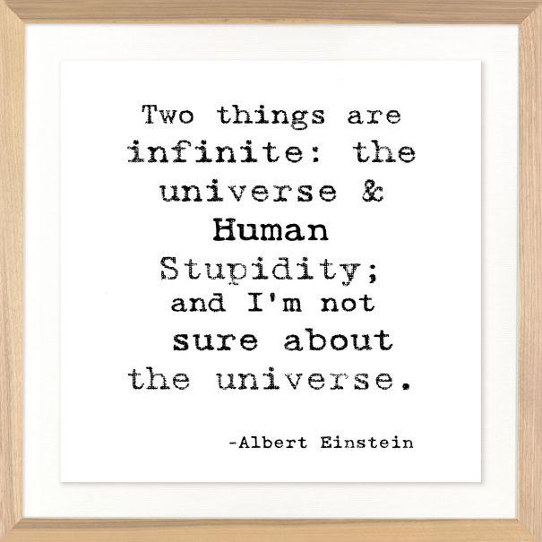 Famous Quotes: Albert Einstein
