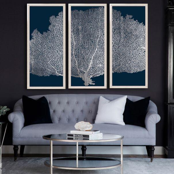 Seafan Triptych, Series 2
