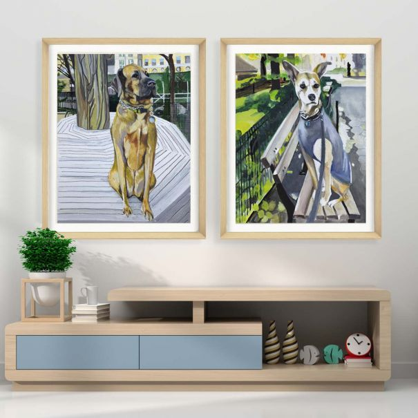 Alison Jones Watercolor Animals