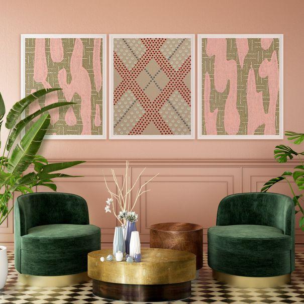 Vintage Textile Design No. 1
