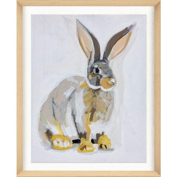 Alison Jones Animal Watercolor: Rabbit