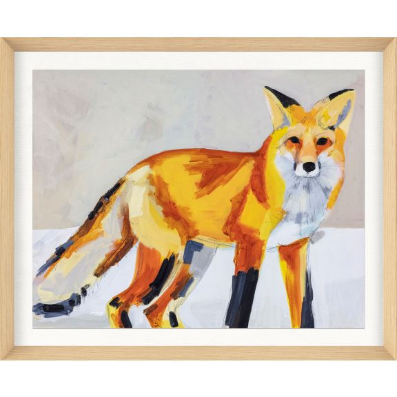 Alison Jones Animal Watercolor: Fox