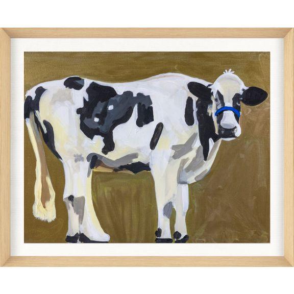 Alison Jones Animal Watercolor: Cow