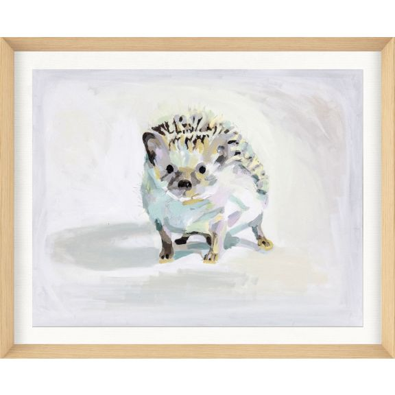 Alison Jones Animal Watercolor: Hedgehog