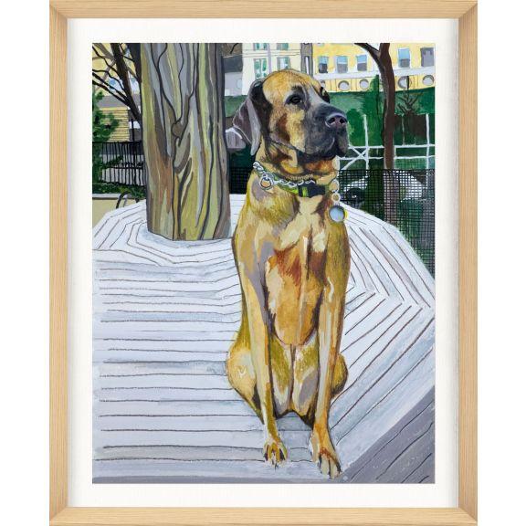 Alison Jones Animal Watercolor: Dog 1