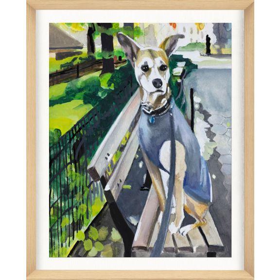 Alison Jones Animal Watercolor: Dog 2