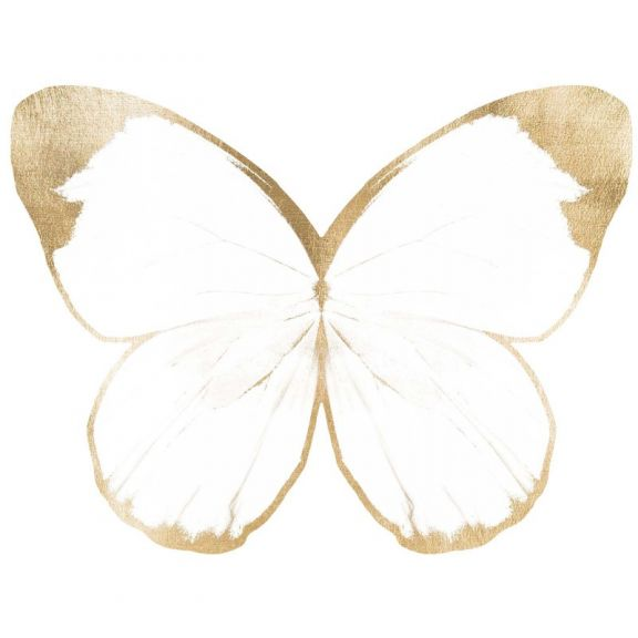 Butterfly Royale, White 2