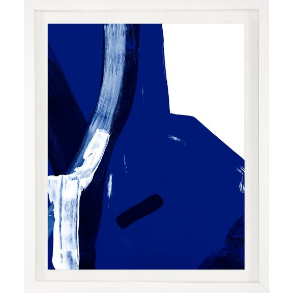 Modern Blue Abstracts No. 1