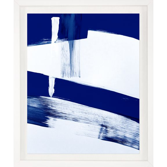 Modern Blue Abstracts No. 4