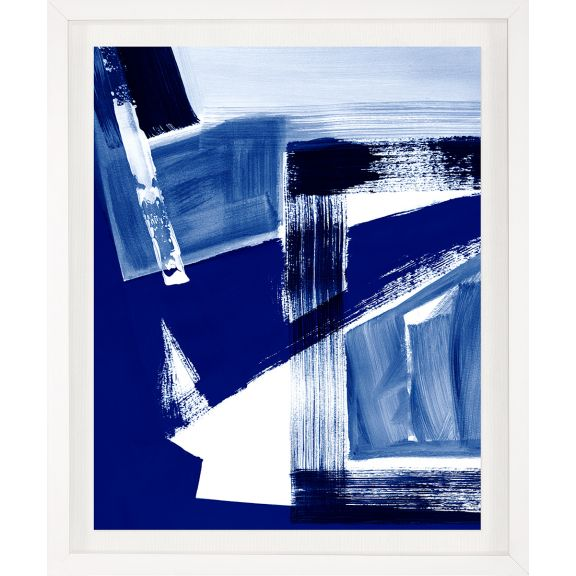 Modern Blue Abstracts No. 6