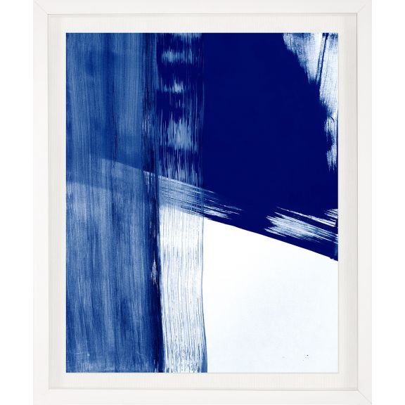 Modern Blue Abstracts No. 7