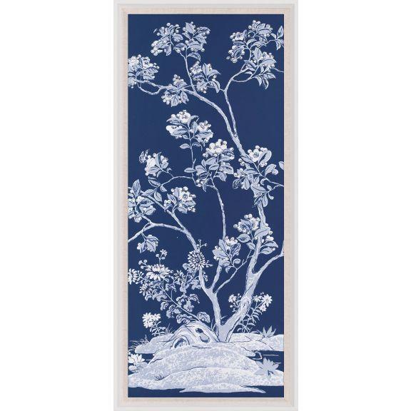 Blue Tree Panel 2