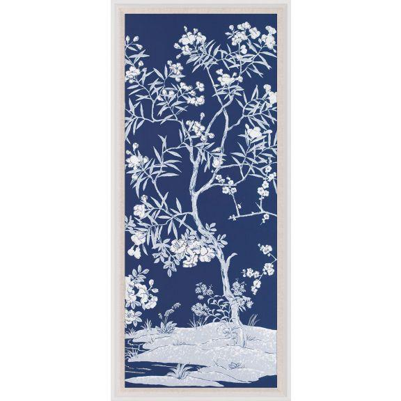 Blue Tree Panel 4