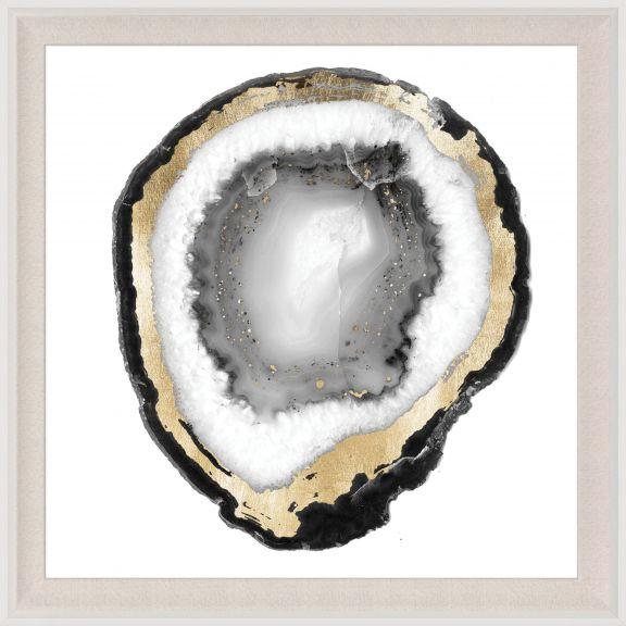 Black & White Geode 1