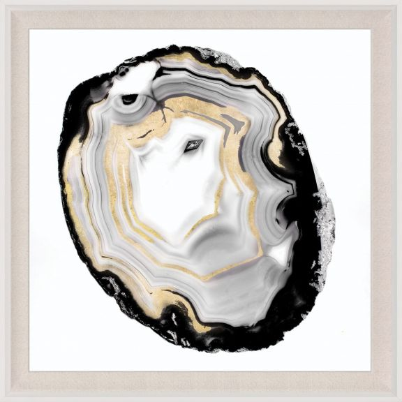Black & White Geode 3