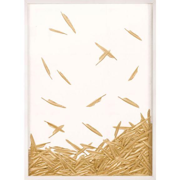 Fallen Feathers, White 1