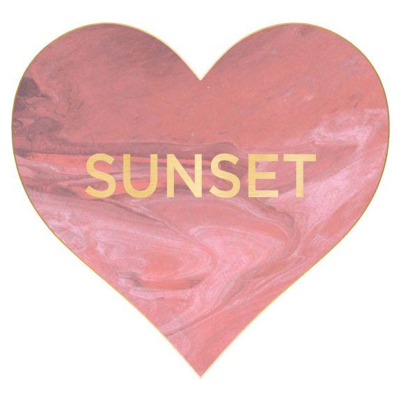 Love Hearts, Sunset
