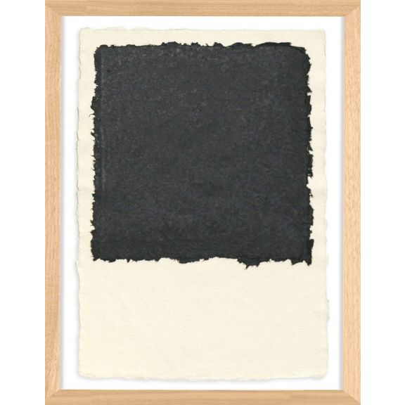Handmade Paper Color Theory 2; Black