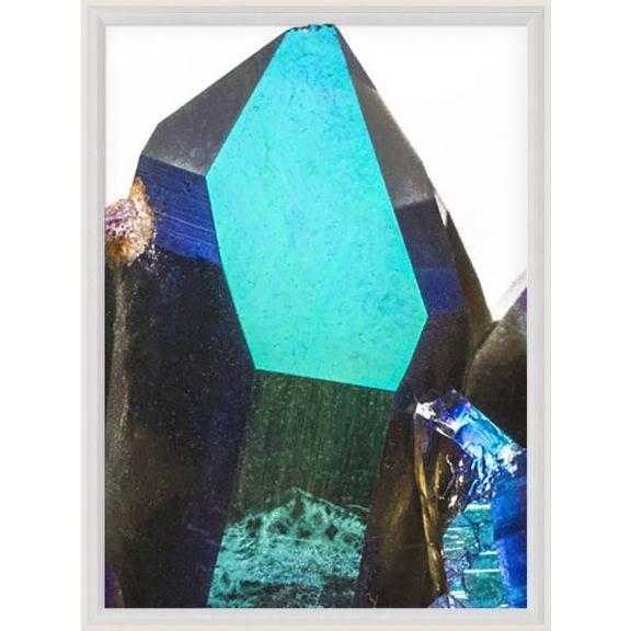 Iridescent Geode Triptych No. 2