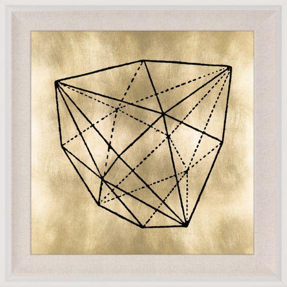 Krystalle 1, Gold Leaf