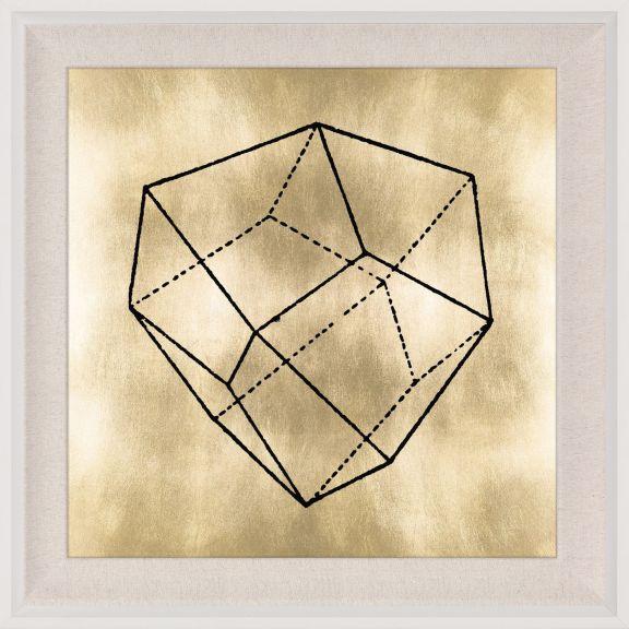 Krystalle 3, Gold Leaf