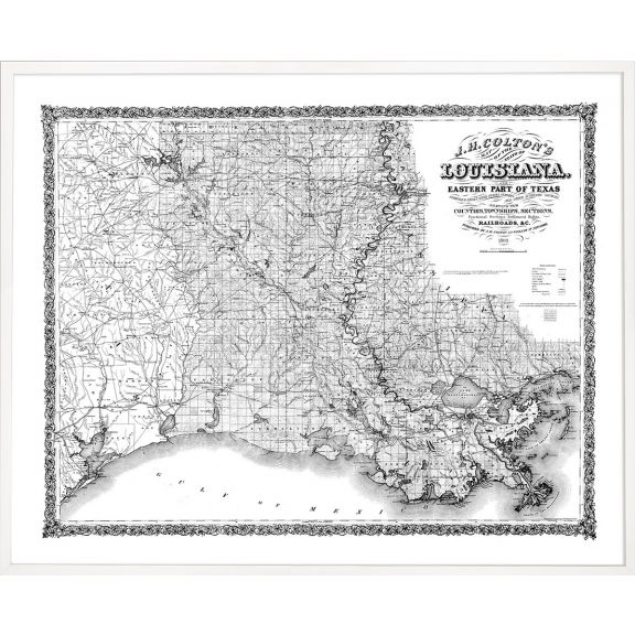 An American Journey, Large: Louisiana 1