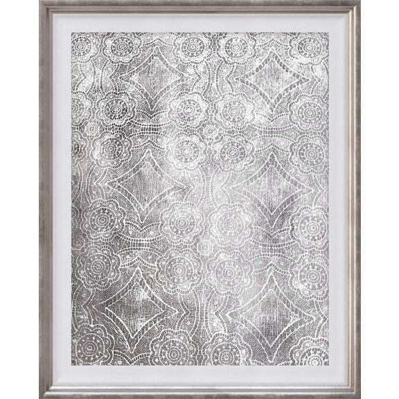 Lace Pattern Silver, 1