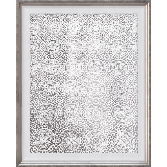 Lace Pattern Silver, 2